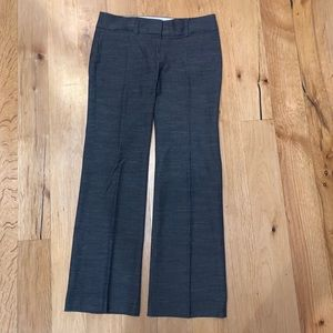 Petite LOFT trousers straight/wide Navy 4P EUC